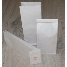 Sáčky papírové bílé, dvouvrstvé na 80 - 100g