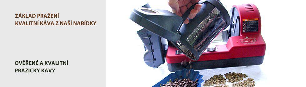 Domácí pražička kávy