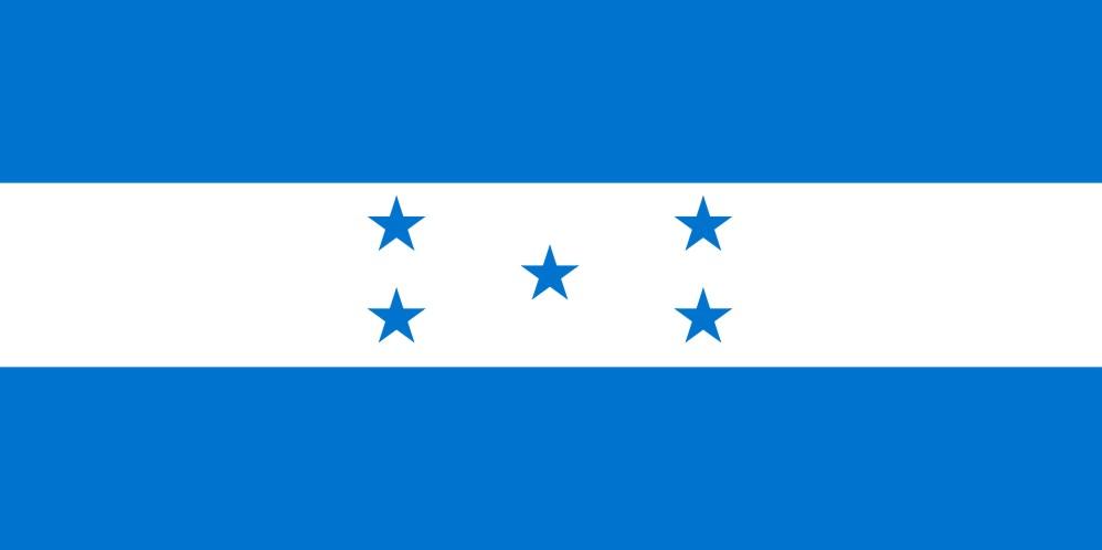 Honduras - státní vlajka