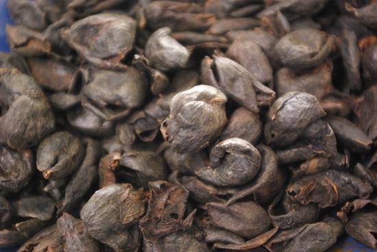 cascara po zpracování kávy mokrou metodou